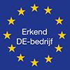 Logo erkend DE bedrijf