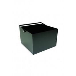 Houtbak vierkant zwart