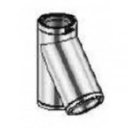isoduct t-stuk 45